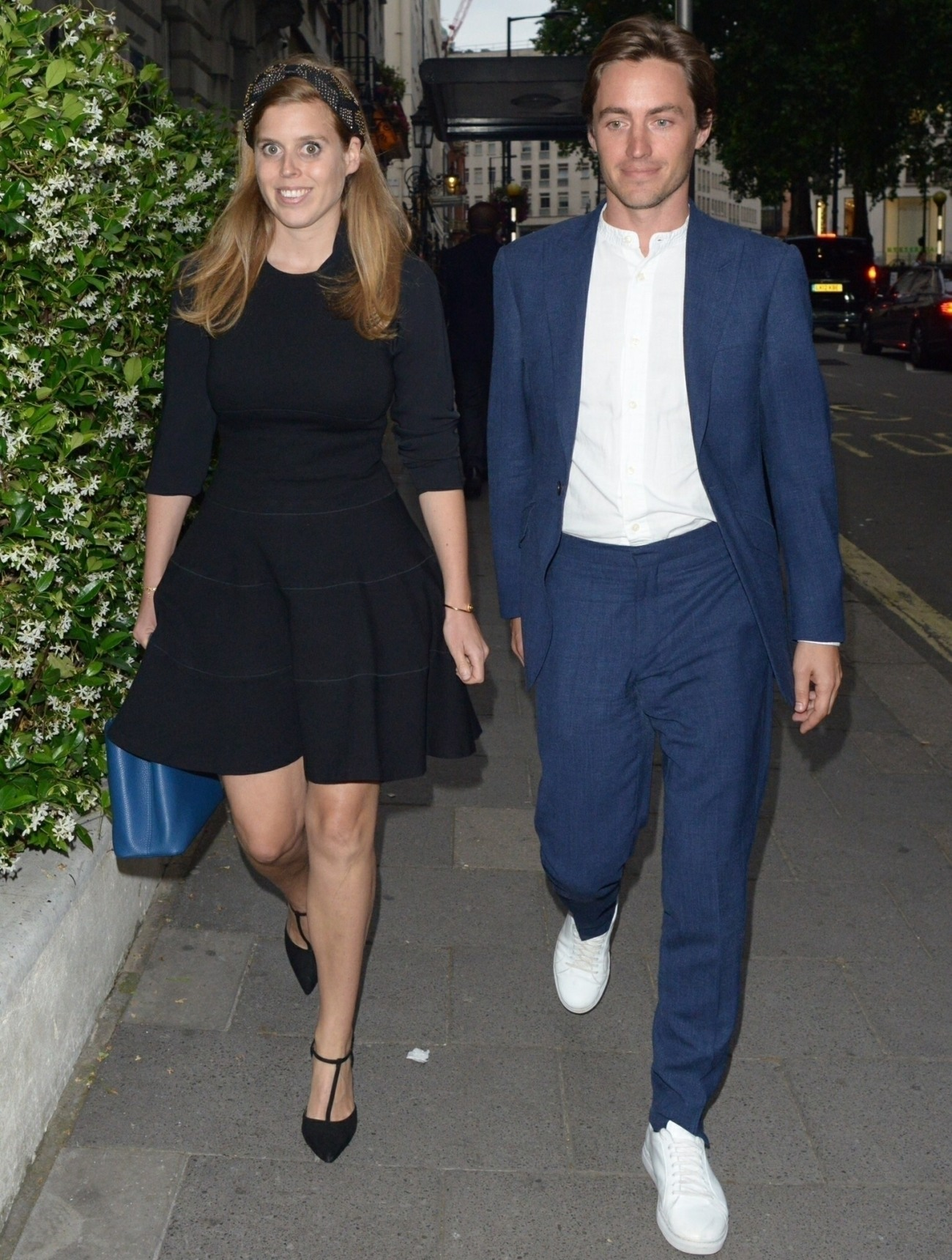 Princess Beatrice of York and Edoardo Mapelli Mozzi at Annabel's Private Members Club in London