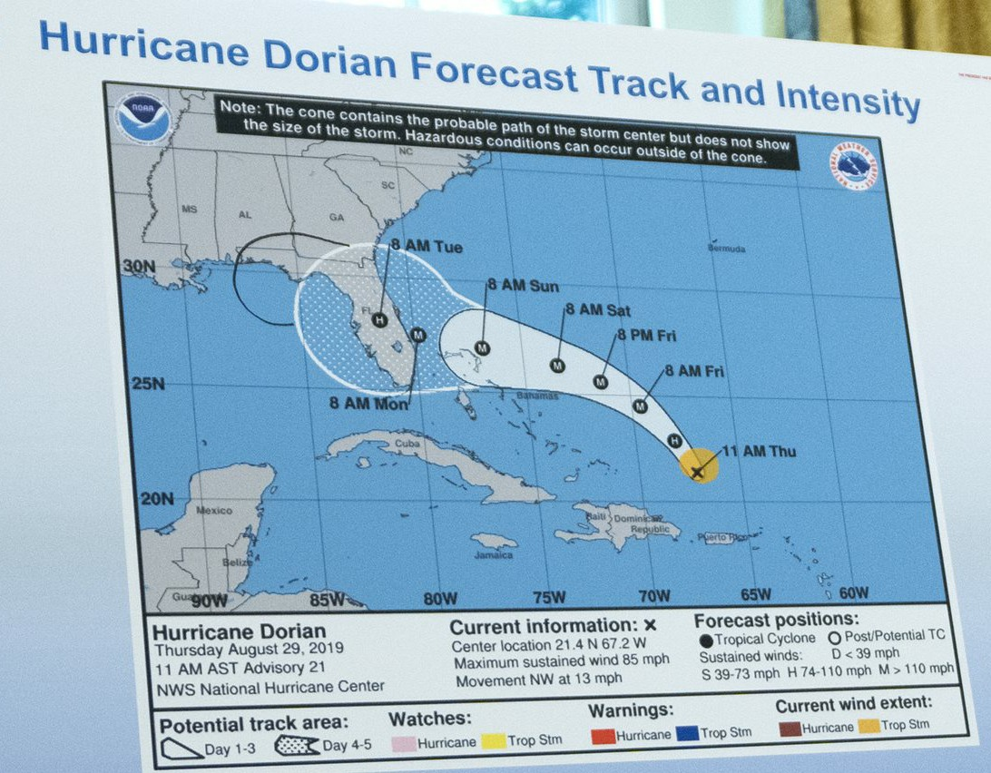 Hurricane Dorian Meeting