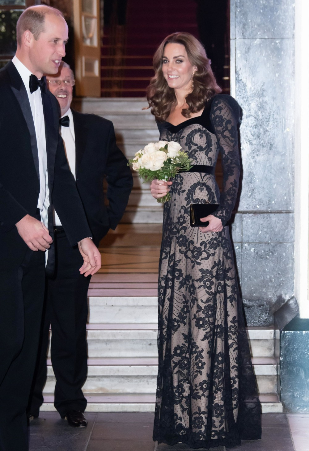 William and Kate at Royal Variety Performance