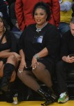 The many faces of Lizzo at the Lakers game!