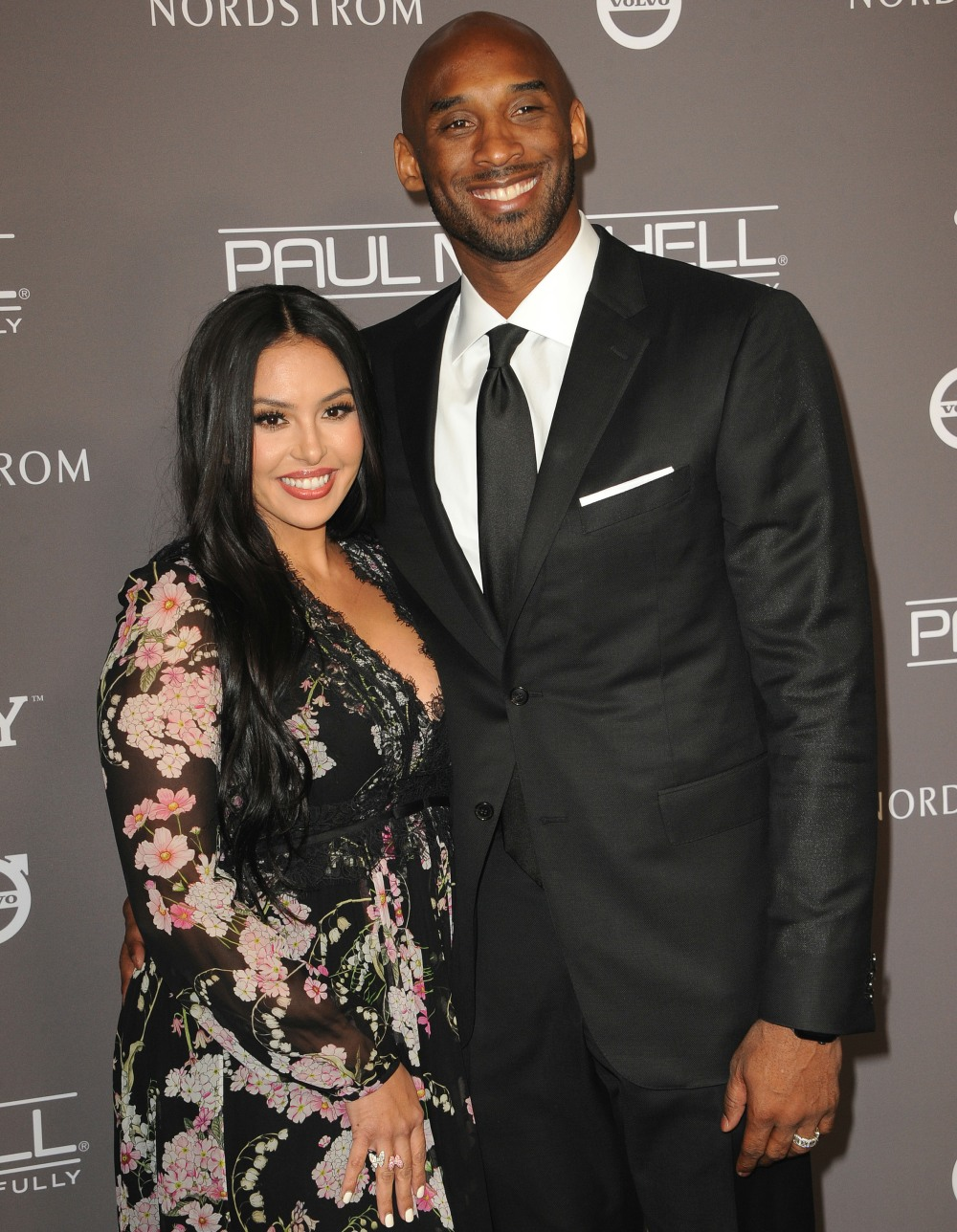 Kobe Bryant and Vanessa Laine Bryant at the 2018 Baby2Baby Gala held at the 3LABS in Culver City, USA on November 10, 2018.