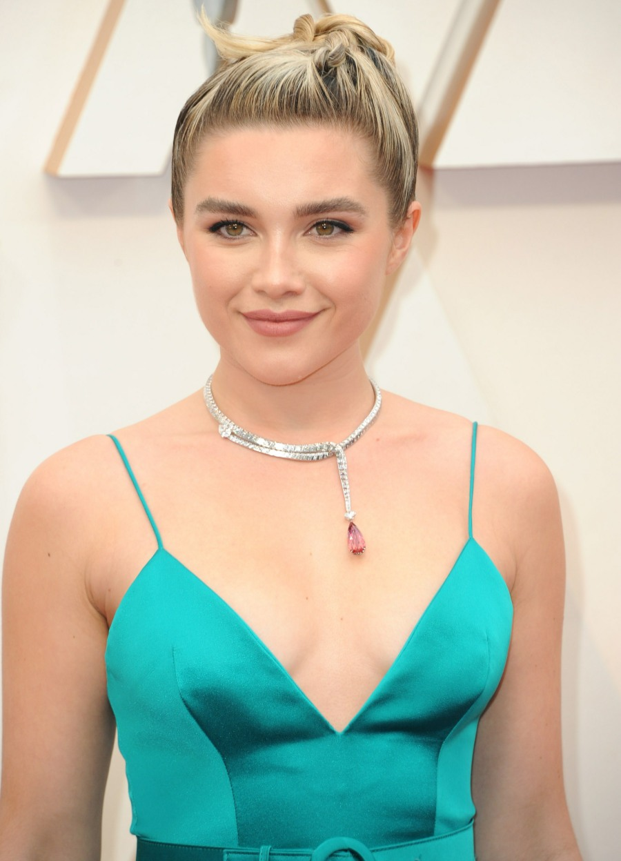 Florence Pugh at arrivals for The 92nd A...