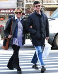 Pregnant Chloe Sevigny and boyfriend Sinisa Mackovic are all smiles shopping for baby clothes in NYC