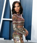 Kerry Washington arrives at the 2020 Vanity Fair Oscar Party held at the Wallis Annenberg Center for...