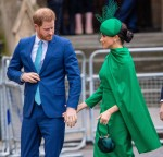 Prince Harry And Meghan Markle Attended Their Last Official Event As Working Royals