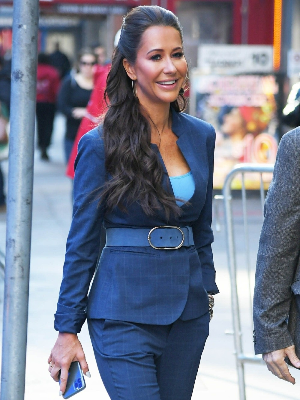 Jessica Mulroney arrives to GMA to help them plan a wedding for one of the viewers