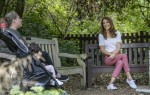 Her Royal Highness in Battersea Park listening directly to parents about their experiences of parent-to-parent support.