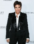 Television personality Kris Jenner arrives at the Los Angeles Ballet Gala 2020 held at The Eli and E...