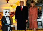Donald Trump hosts a Halloween event at the White House